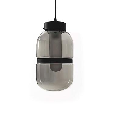Vitale Bulb Grey Sarkıt Avize Renkli
